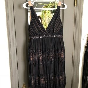 Black lace BCBG dress